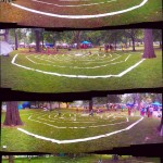 Afrofest Labyrinth Giant Outstallation Art by HiMY SYeD in Queen's Park