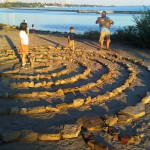 Sunnyside Beach Stone Labyrinth, Toronto Ontario Canada, Thanksgiving Sunday October 09 2011 - 066