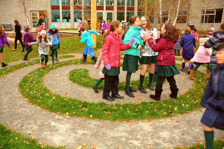burke brook labyrinth