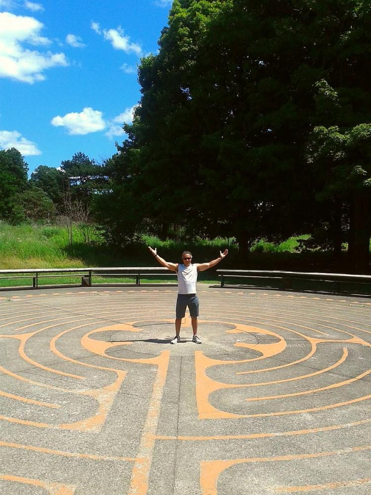 #walking the #labyrinth at #highpark twitter-com-millarfit-status-623628418593202176