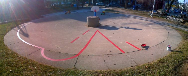 02 - Harbord Village Labyrinth
