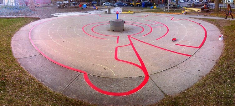 03 - Harbord Village Labyrinth