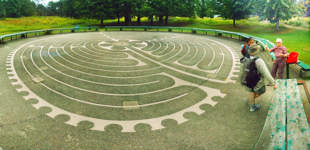 High Park Labyrinth -- Hawk Hill