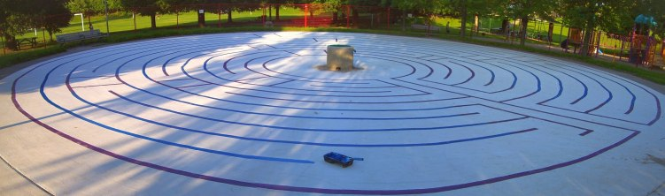 christie-pits-wading-pool-labyrinth-almost-done