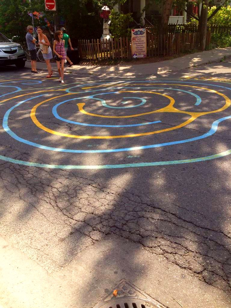 I found this labyrinth in toronto shows you can get art for Pool show toronto 2015